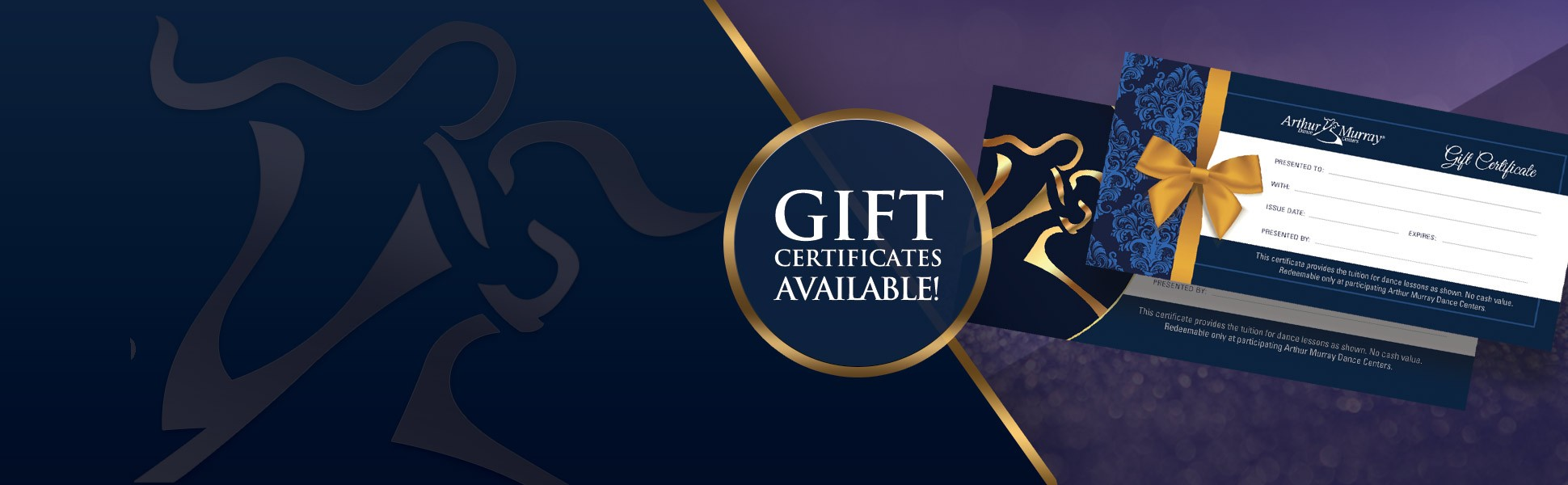 Gift Certificate Animated Banner